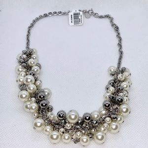 Pearlized Statement Necklace